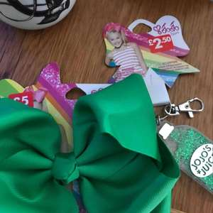 jojo siwa bows £3.50 @ Claires Accessories