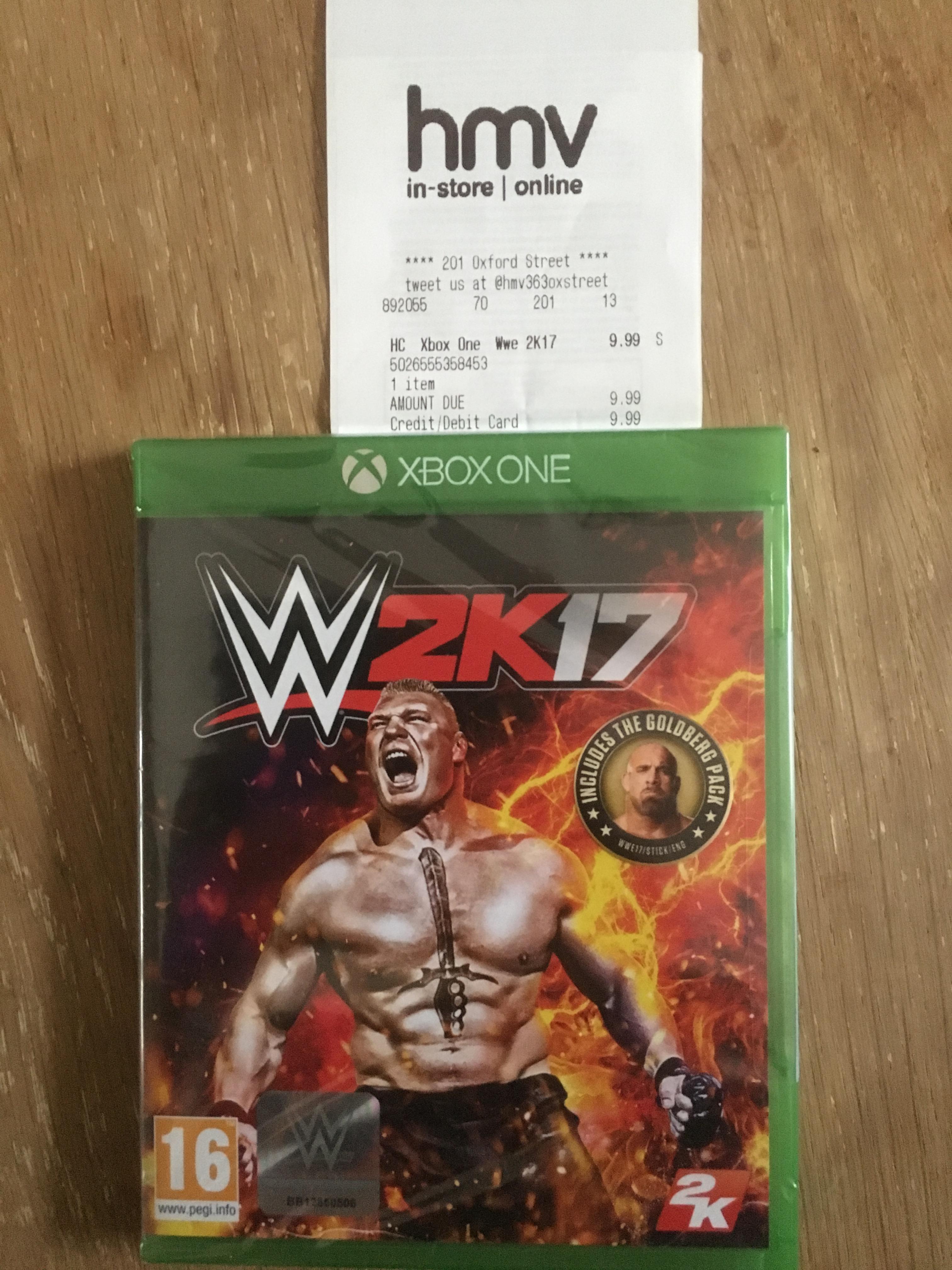WWE 2K17 - Xbox One - £9.99 - HMV Oxford Street