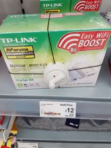 Tp Link Av500 powerline wifi starter kit scanning at £11 ASDA Halesowen