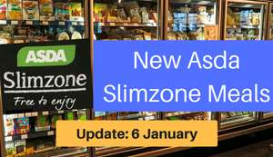 ASDA Slimzone Vegetable Dhansak Curry THE Healthiest readymade curry / meal for £2.50