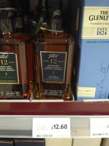 Tescos finest Speyside single malt 12.60 instore