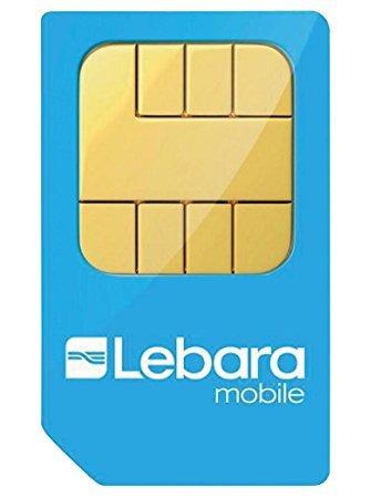 Lebara (Voda 3G) Unlimited UK & 43 international mins, 1000 texts, 5GB - £12