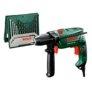 Bosch PSB 500RE Hammer Drill + 15-Piece Accessory Set was £59.99 reduced to £39.99 now £35.99 @ Robert Dyas (C&C)