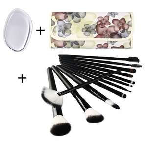 UNIMEIX 12 Pieces Black Makeup Brush Set £5.98  (Prime) / £9.97 (non Prime)  Sold by UNIMEIX BEAUTY and Fulfilled by Amazon.