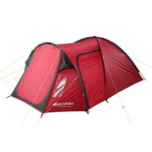 Eurohike Avon DLX 3-man tent £47.75 (click/collect) or £50.74 (delivered) with code NEW15 at Blacks/Millets