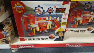 Fireman Sam Fire rescue centre £6.99 in store  @ B&M Bargains Cribbs Causeway Bristol