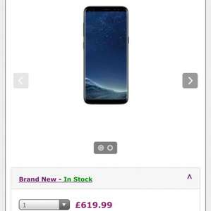 Samsung S8 Plus Unlocked £619 & £5 P&P sold via SmartPhoneStore