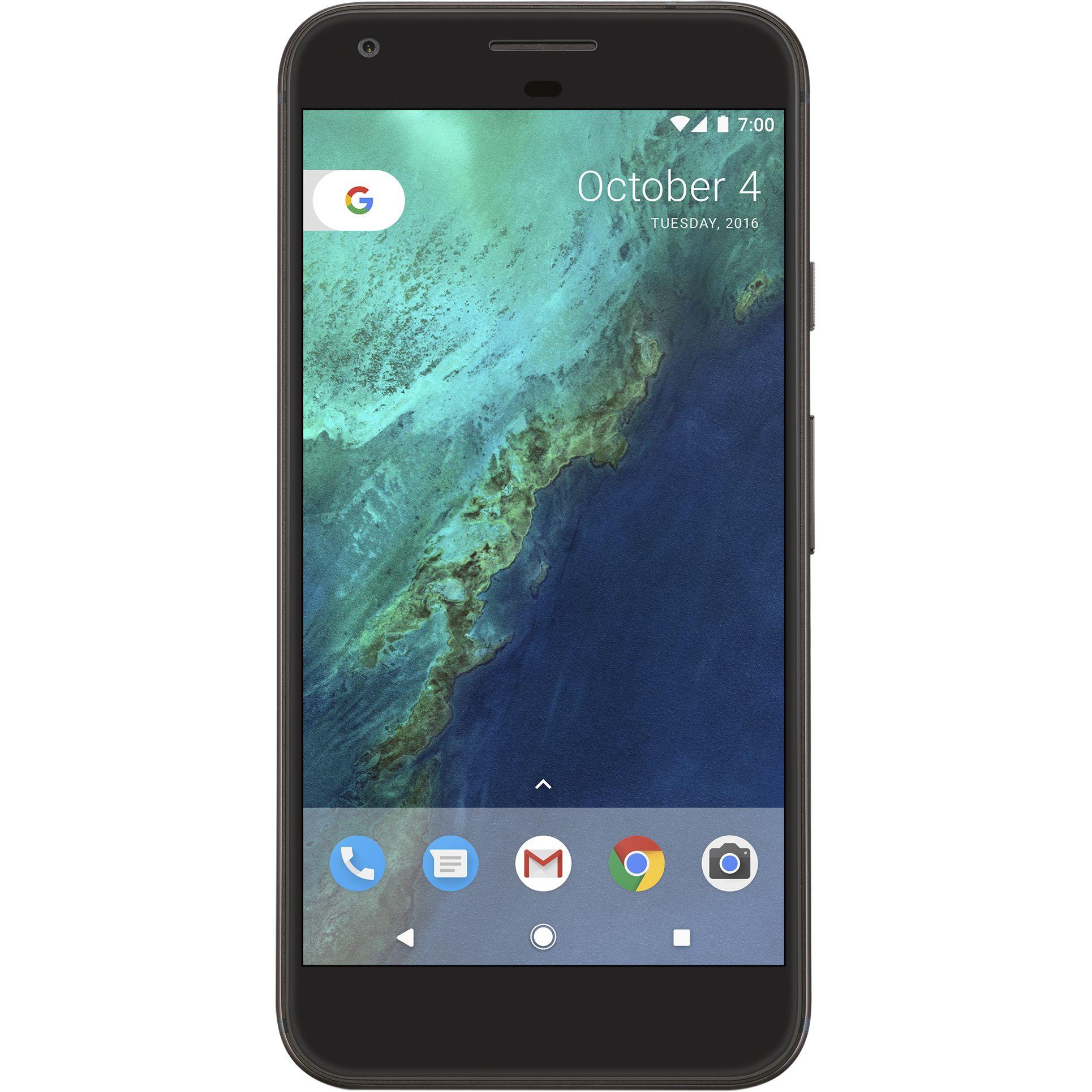 Google Pixel 32GB Black, Unltd Mins, Unltd Txts, 5GB 4G Data, £27.99PM on EE w/ £10 upfront with code (£681.76 total) @ Mobiles.co.uk