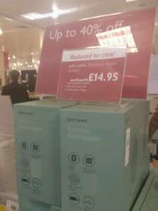 Reduced to clear John Lewis Bluetooth speaker £14.95 IN STORE - Solihull and in Tamworth