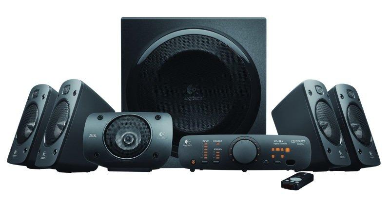 Logitech Z906 Surround Sound 5.1 Speaker System £169.98 + Free del @ Ebuyer