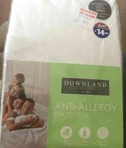 anti-allergy mattress protectors double & king size £5.99 B&M - Droitwich Spa