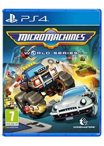 Micro Machines: World Series [PS4/XBox] £17.85 @ Base