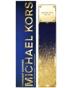 Michael Kors  Midnight Shimmer Eau De Parfum 100ml Spray was £82 now £52 with code PLUS free Tote bag & samples @ The Fragrance Shop
