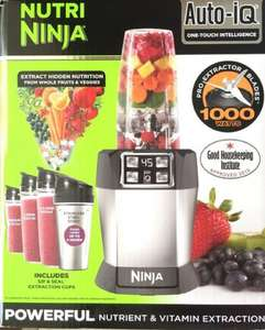 Nutri Ninja Blender with Auto IQ BL480UK £54.99 @ Amazon