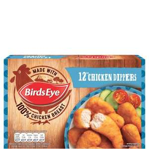 Birds Eye Crispy Chicken Dippers (12 per pack - 220g) was £2.00 now £1.00 @ Ocado