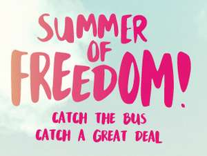 Greater Manchester student First Bus m-ticket valid for all of July and August- £42 - under £5 a week, less than half price