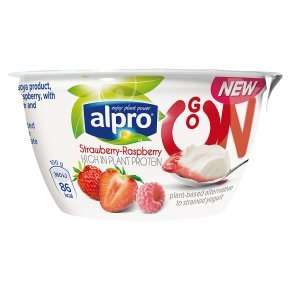 Alpro Go On Strawberry Raspberry (150g) was 89p now 50p @ Waitrose