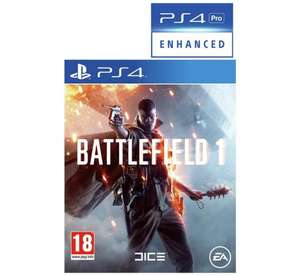 Battlefield 1 (PS4/XBOX) £21.49 / (PC) £20.99 @ Argos
