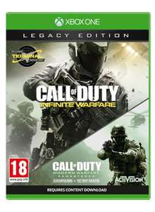 Call of Duty: Infinite Warfare - Legacy Edition Xbox One £30.24 @ Game