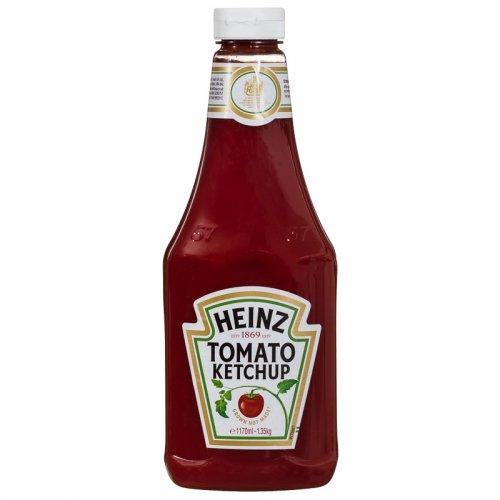 Heinz Tomato Ketchup 875ml (1kg) £1.49@ Herons