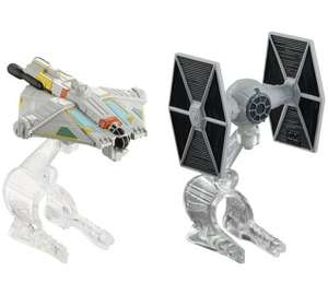 Hot Wheels Star Wars Starship 2 Pack £1.99 @Argos (Free C&C)