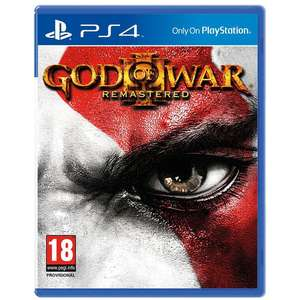 God of War lll Remastered PS4 £9.93 (C&C available) @ Toys R Us