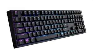 Cooler Master Masterkeys Pro L RGB Mechanical Keyboard (Free Sirus C Gaming Headset) £109.99 @ Box