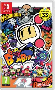 Super Bomberman R Nintendo Switch 40% off from £49.99 now £29.99  @ Nintendo eshop