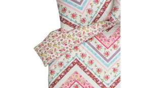 Asda Direct Chevron Vintage duvet cover for £1