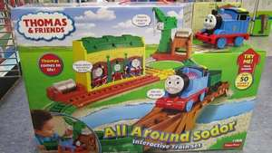 My First Thomas All Around Sodor Interactive Train Set £12.48 instore @ Toys R Us Swansea