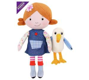 lily's driftwood bay talking, posable plush 3.99 @ Argos