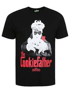 Cookie Monster Cookiefather T-Shirt now £4 @ George Asda