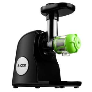 Aicok Slow Masticating Juicer Extractor £49.99 @ Sold by Funnyhome and Fulfilled by Amazon (Lightning Deal)