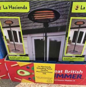 Infared Outdoor Patio Heater - 3 Power Settings - £36 instore @ Morrisons