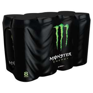 8 original monster £2.50 instore @ ASDA Aberdeen & Hayes Middx (maybe others too)