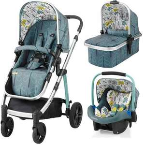 Cosatto Wow - Award winning travel system at £539 with free Car Seat @ Kiddies Kingdom