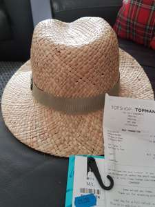 Straw hat £1 in store @ Topman (Preston)