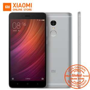 Global Version Xiaomi Redmi Note 4 4GB RAM, 64GB ROM, 5.5 FHD, 4100 Battery, Snapdragon 625 Delivered from AliExpress/Xiaomi Online Store - £110.66