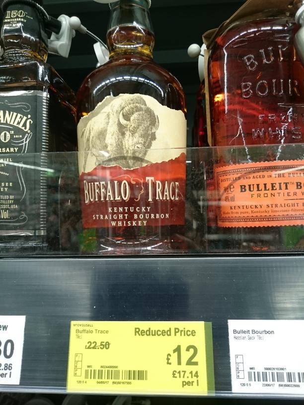 buffalo trace bourbon £12 asda halesowen