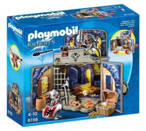 Playmobil 6156 My Secret Knights Treasure Room Play Box for £11.85 (Was £16.99) @ Tesco