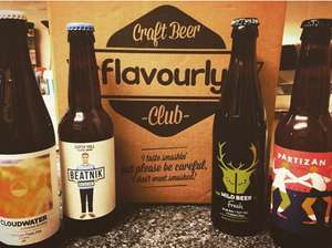 10 Real Craft Beers DELIVERED for only £15 @ Flavourly.com