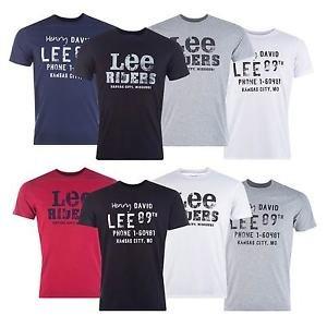 Mens Lee Graphic Print T- Shirt £6.39 @ Ebay/ Get The Label
