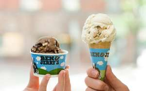 Free Ben + Jerry's in London, Soho on Thurs 6th July 12-8PM