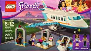 LEGO Friends Heartlake Private Jet 41100, FREE Click+Collect @ Tescos