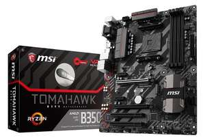 MSI B350 TOMAHAWK AM4 Motherboard @ CCL for £97.74 (£84.74 after cashback) - more deals in post