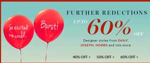 Upto 60% off sale at very exclusive