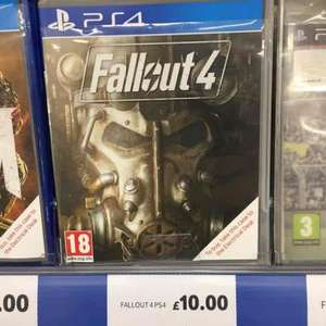Fallout 4 PS4 - £10 @ Tesco