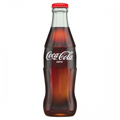 12 x 330ml Coke Zero Glass Bottles £2.49 @ Heron Foods