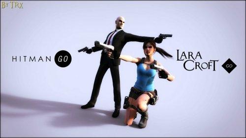 Lara Croft GO £2.71, Hitman GO: Definitive Edition £1.62 @ Steam