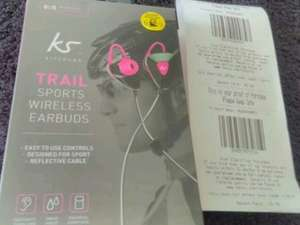 Kitsound Trail Bluetooth earphones £6 in-store at Tesco Walsall